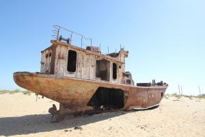 Aral Sea Ship