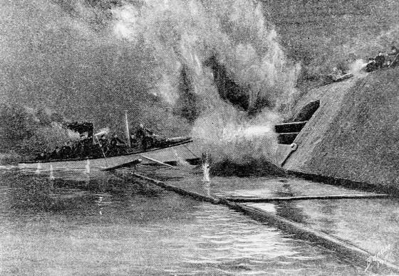 ironclad sinking
