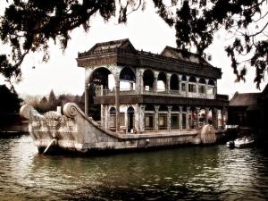 Ci Xi Marble Boat