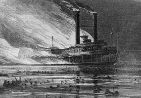 civil war steamboat