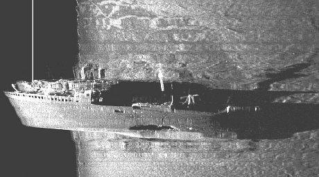 sunk nazi ship