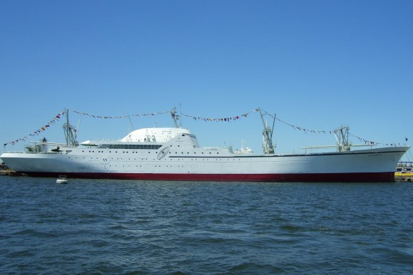 nuclear powered merchant ship
