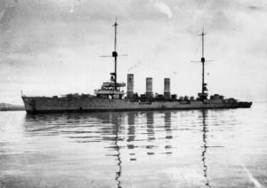 german cruiser