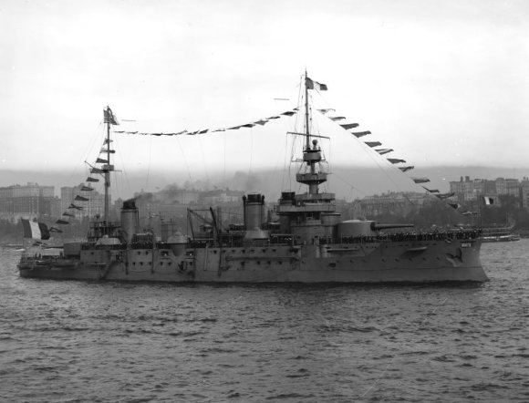 French battleship