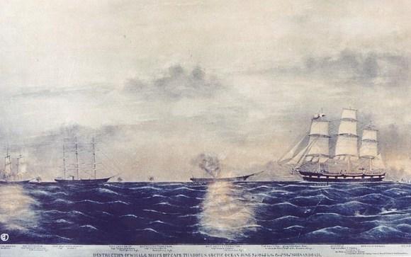 Confederate warship