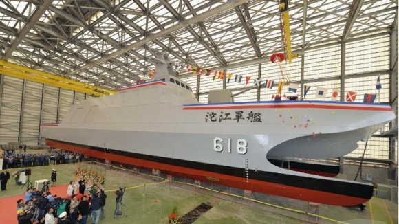 Taiwan missile corvette
