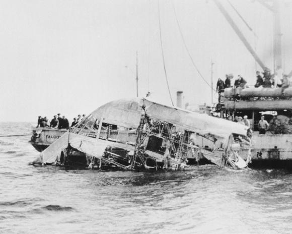 airship wreckage